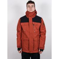 Quiksilver RAFT BARN RED zimní bunda pánská - L