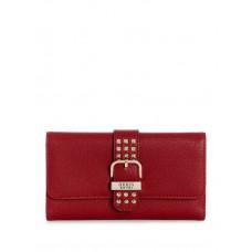 GUESS peněženka Eileen Studded Multi Clutch bordová vel.