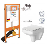 JOMO - SET JOMO Duofix modul pro závěsné WC + montážní sada + sedátko + WC CERSANIT CLEANON SPLENDOUR (174-91100700-00 SP1)