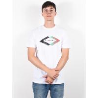 Rip Curl QUOTED OPTICAL WHITE pánské tričko s krátkým rukávem - S