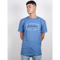 Quiksilver INSIDE LINES QUIET HARBOR pánské tričko s krátkým rukávem - S