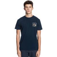 Quiksilver HIGHWAY VAGABOND NAVY BLAZER pánské tričko s krátkým rukávem - M