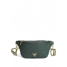 GUESS ledvinka Alex Convertible Belt Bag green vel.
