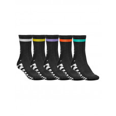 Globe COF 5 PK moderní barevné pánské ponožky - 7-11