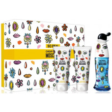 Moschino So Real Cheap and Chic W toaletní voda 50ml + BL 100ml + SG 100ml