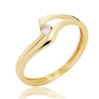 Couple Zlatý dámský prsten Eloise 4515047 Velikost prstenu: 55