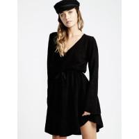 Billabong CRAZY LIFE black společenské šaty krátké - S