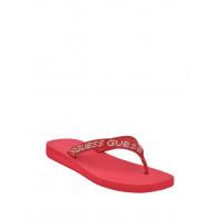 GUESS žabky Tajah Rhinestone Flip Flops červené vel. 38,5