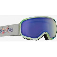 Anon TEMPEST CRAFTY/BLUE LAGOON dámské brýle na snowboard