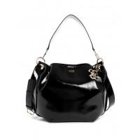 GUESS kabelka Digital Shine Hobo Bag černá vel.