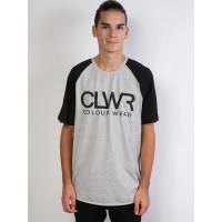 Colour Wear TTR JERSEY GREY MELANGE pánské tričko s krátkým rukávem - M