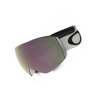 Oakley FLIGHT DECK XL Matte White w/Prizm HI Pink pánské brýle na snowboard