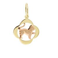 Zlato Zlatý přívěsek znamení zvěrokruhu 3220065 Znamení zvěrokruhu: Lev