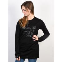 MONS ROYALE BOYFRIEND black dámské thermo prádlo - M
