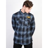Fox Gorman Overshirt 2.0 NAVY pánská košile dlouhý rukáv - XL