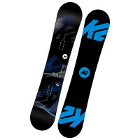 K2 STANDARD BLACK/BLUE snowboard - 155