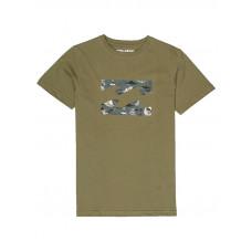 Billabong TEAM WAVE MILITARY dětské tričko s krátkým rukávem - 12