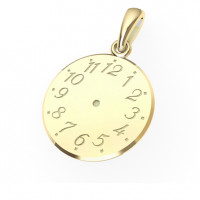 Zlato Zlatý přívěsek Křticí hodiny 6628002