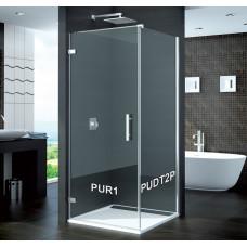 SanSwiss PUDT2P 070 10 07 Boční stěna sprchová 70 cm, chrom/sklo