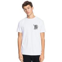 Quiksilver SUMMER SKULL white pánské tričko s krátkým rukávem - L