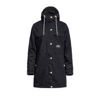 Horsefeathers CLARA black zimní bunda dámská - L