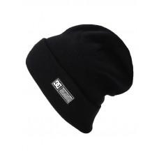 Dc LABEL black pánská zimní čepice
