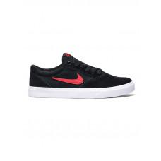 Nike SB CHRON SLR BLACK/RED pánské letní boty - 44,5EUR