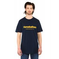 Horsefeathers QUARTER ECLIPSE pánské tričko s krátkým rukávem - S