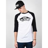 Vans OTW white/black pánské tričko s dlouhým rukávem - L