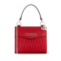 GUESS kabelka Brinkley Mini Top Handle Crossbody červená vel.