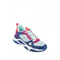 GUESS tenisky Flaus Color-block Chunky Sneakers modré vel. 38