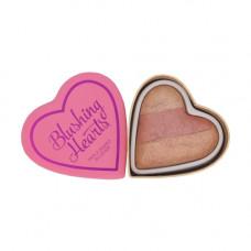Makeup Revolution London I Love Makeup Blushing Hearts 10g - Peachy Keen Heart