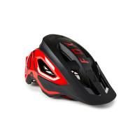 Fox Speedframe Pro BLACK/RED cyklistická přilba - M