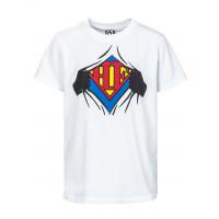 Horsefeathers CLARK white dětské tričko s krátkým rukávem - XS