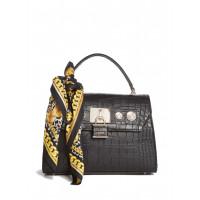 GUESS kabelka Anne Marie Faux-leather Top Handle Bag černá vel.