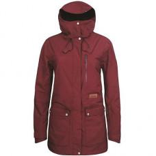 Dámská bunda PLANKS Good Times Insulated Jacket Maroon 18/19 Velikost: M