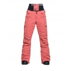 Horsefeathers LOTTE SPICED CORAL zateplené kalhoty dámské - XS