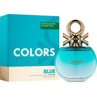 Benetton Colors de Benetton Blue toaletní voda Pro ženy 80ml