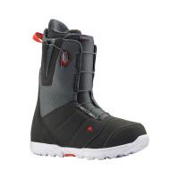 Burton MOTO GRAY/RED pánské boty na snowboard - 45EUR