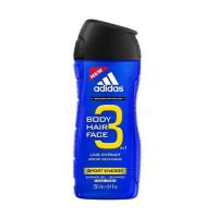Adidas 3in1 Sport Energy Sprchový gel 250ml M
