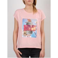 Roxy NEW CREW MEN0 dámské tričko s krátkým rukávem - S