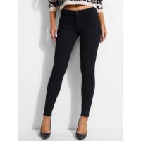 GUESS džíny Mid-rise Skinny Jeans černé vel. 28