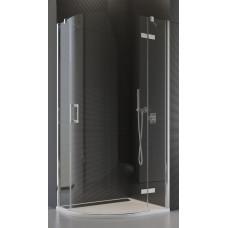 SanSwiss P3PD 50 080 10 07 Sprchový kout čtvrtkruhový 80 cm pravý, chrom/sklo