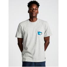 Element HOFFMAN grey heather pánské tričko s krátkým rukávem - M