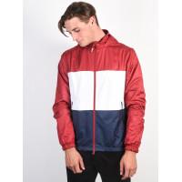 Nike SB SHIELD RED/WHITE/OBSIDIAN jarní bunda pánská - L