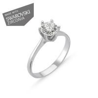 OLIVIE Stříbrný prsten EMMA 1728 Velikost prstenů: 9 (EU: 59 - 61)