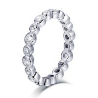 OLIVIE Stříbrný prstýnek 4705 Velikost prstenů: 7 (EU: 54 - 56)