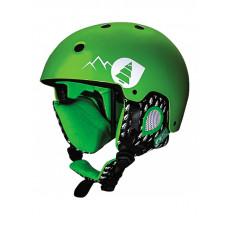 Picture Symbol green přilba na snowboard - M