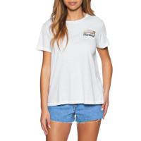 Rip Curl BREAKING WAVES Rip Curl White dámské tričko s krátkým rukávem - L