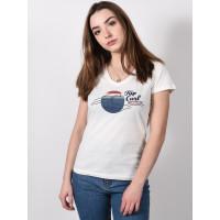Rip Curl THE WAVE BONE dámské tričko s krátkým rukávem - S